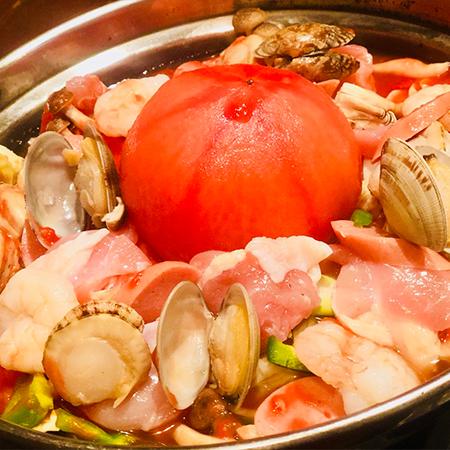 特製トマト鍋
